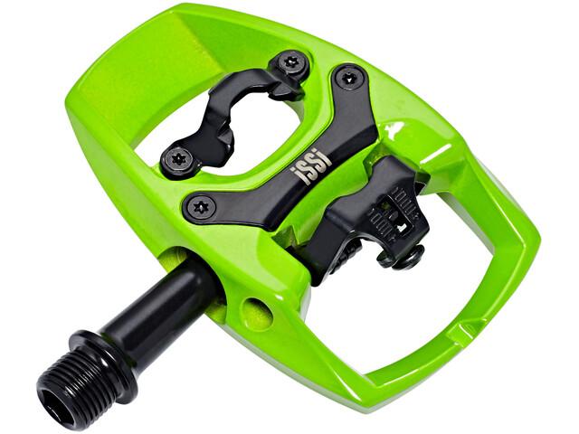 iSSi Flip II Pedali verde/nero
